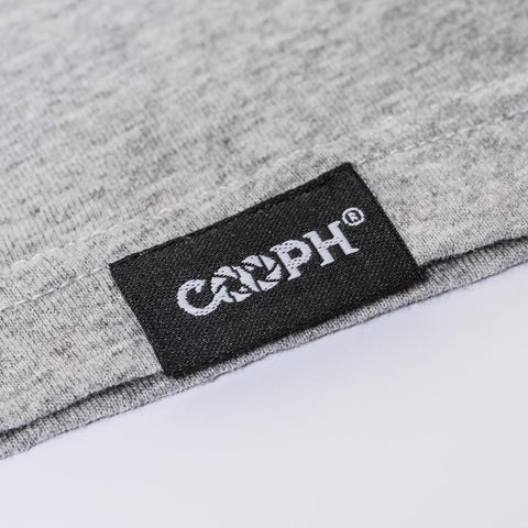 stitched-on COOPH label - T-Shirt OBJECTIFYER - Light Gray - COOPH store