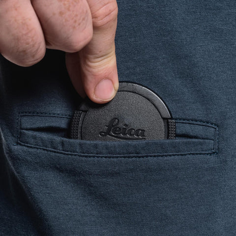 pocket for lens cap - T-Shirt OBJECTIFYER - Petrol - COOPH store