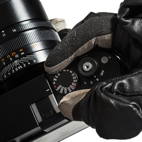 uncover fingers for perfect camera handling - Photo Glove ULTIMATE - COOPH store