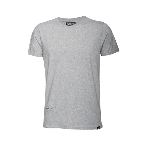 T-Shirt LEICOGRAPHER - frontside - Heather gray - T-Shirt LEICOGRAPHER Heather Grey