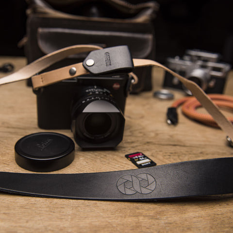 Camera Strap LEATHER - Camera Strap LEATHER - COOPH store