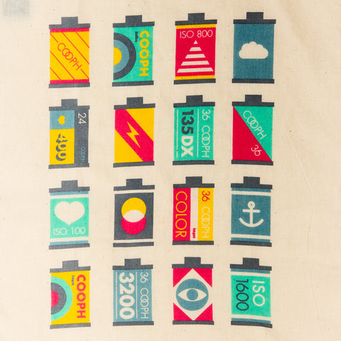 Print CANISTERS - Canvas Bag CANISTERS