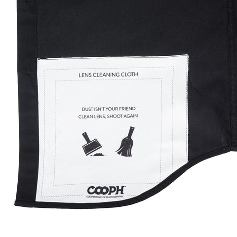 lens cleaning cloth - Big Pocket Shirt DOUBLE ECLIPSE - COOPH store