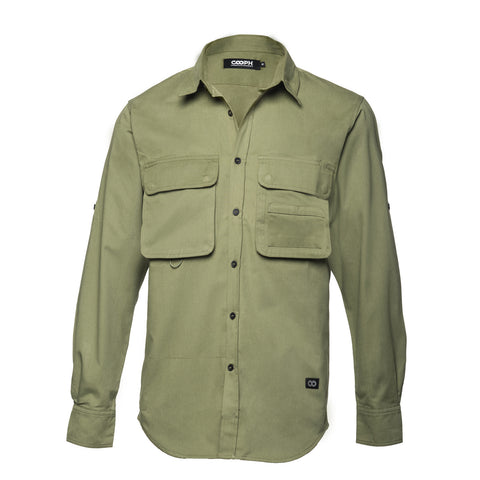 Big Pocket Shirt THE HUNTER - Big Pocket Shirt THE HUNTER - COOPH store