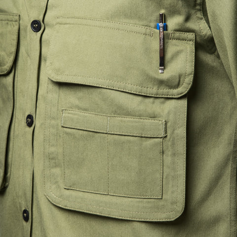 Big snap-close pockets - Big Pocket Shirt THE HUNTER - COOPH store