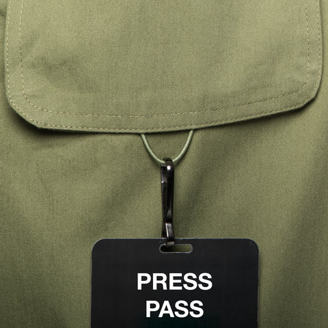 press pass loop - Big Pocket Shirt THE HUNTER - COOPH store