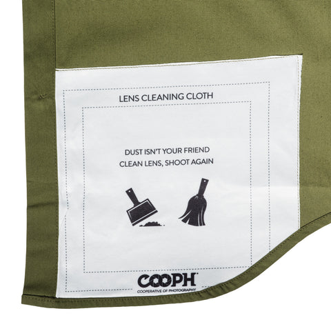 lens cleaning cloth - Big Pocket Shirt THE HUNTER - COOPH store