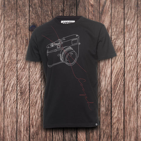 T-Shirt STITCHCAM - Black - T-Shirt STITCHCAM - Black - COOPH store