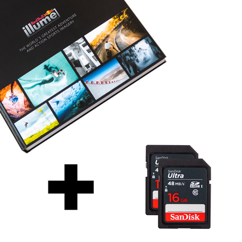Red Bull Illume 2019 Photobook + SanDisk SD-Card - Red Bull Illume 2019 Photobook + SanDisk SD-Card