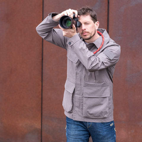 taupe - Field Jacket ORIGINAL - COOPH Cooperative of Photography GmbH