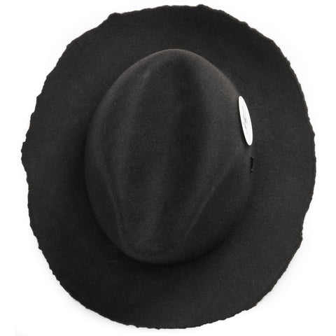 ripped edges for rugged look - Elements Hat - Anthracite - COOPH store