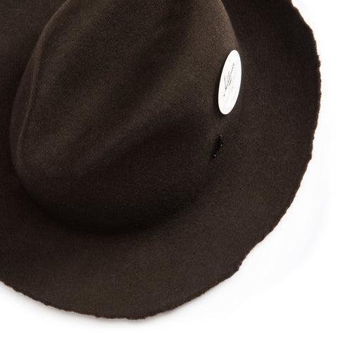 flexible brim for shooting vertically - Elements Hat - Dark brown - COOPH store