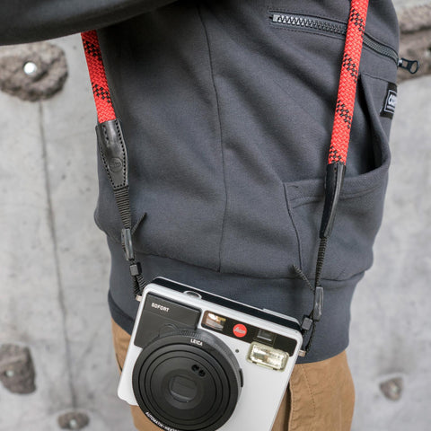 Leica Camera Rope Strap SO - Fire - Leica Camera Rope Strap SO - Fire - COOPH store