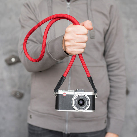 red - Leica Rope Strap - COOPH Cooperative of Photography GmbH
