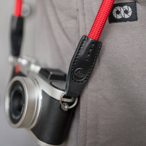 Leica Camera Rope Strap - Red - Leica Camera Rope Strap - Red - COOPH store