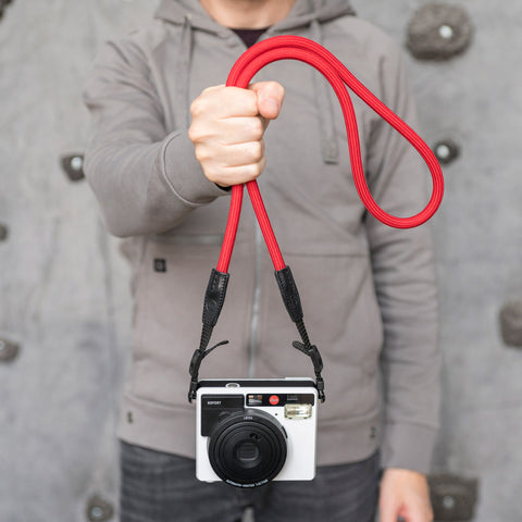 Leica Camera Rope Strap SO - Red - Leica Camera Rope Strap SO - Red - COOPH store