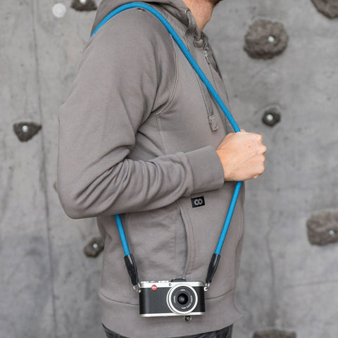 Leica Camera Rope Strap - Blue - Leica Camera Rope Strap - Blue - COOPH store