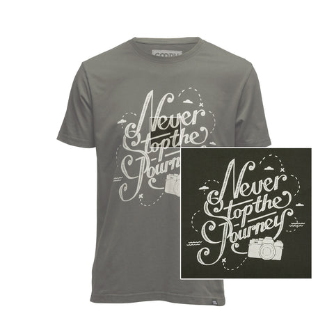 features - T-Shirt NEVER STOP