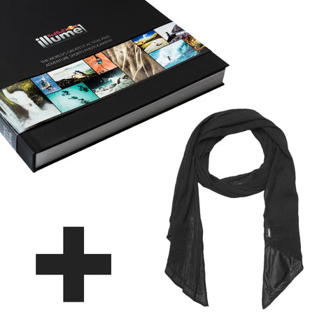 Scarf ORIGINAL + Red Bull Illume 2016 Photobook- Scarf ORIGINAL + Red Bull Illume 2016 Photobook