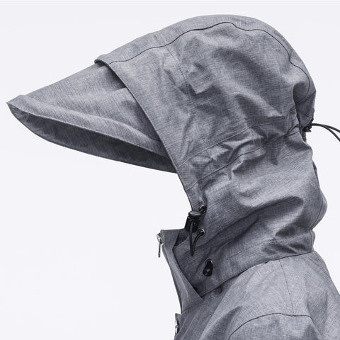 extendable and formable hood - Rain Jacket ORIGINAL - COOPH store