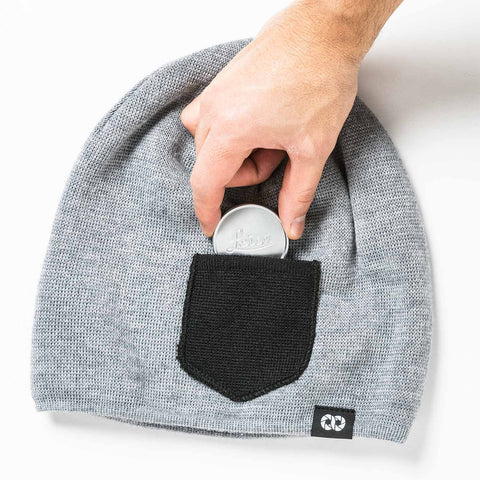 pocket for lens cap - Beanie WINTER