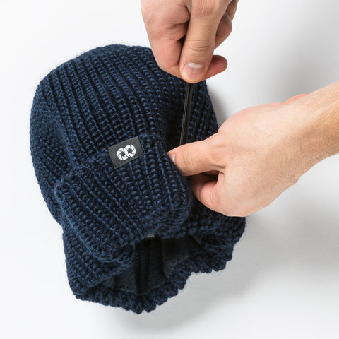 Pouch Beanie KNIT (long) - Pouch Beanie KNIT (long) - COOPH Cooperative of Photography GmbH