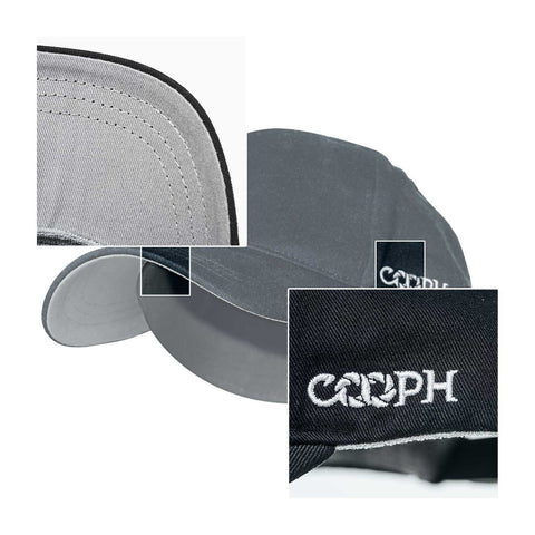features - Gray Chart Cap PURE - COOPH Cooperative of Photography GmbH