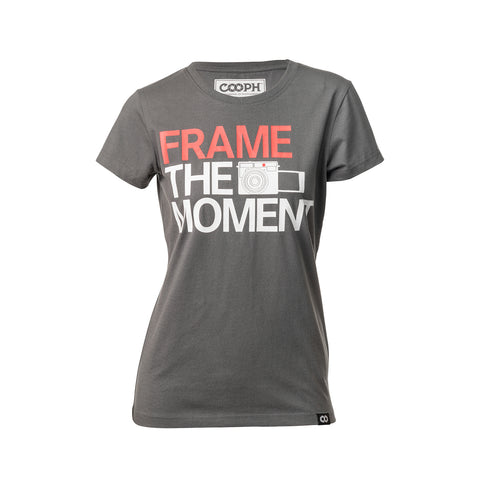T-Shirt FRAME - Dark shadow - female- T-Shirt FRAME