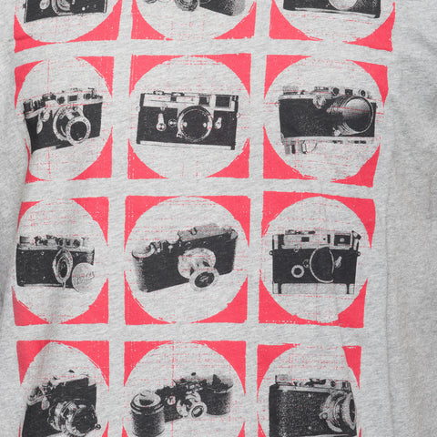 Print CAMCHART - T-Shirt CAMCHART Lens Pocket - White - COOPH store