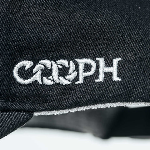 embroidered COOPH logo - Gray Chart Cap PURE - COOPH store