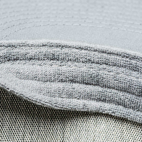 integrated sweatband channels moisture away from your eyes - Gray Chart Cap HANDS ON - COOPH store