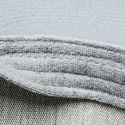 integrated sweatband channels moisture away from your eyes - Gray Chart Cap ICON - COOPH store