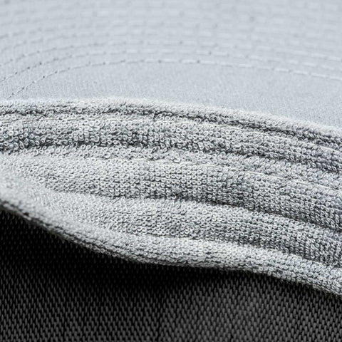 integrated sweatband channels moisture away from your eyes - Gray Chart Cap PURE - COOPH store