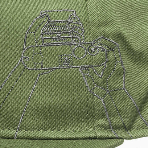 camera design stitching - Gray Chart Cap HANDS ON - COOPH store