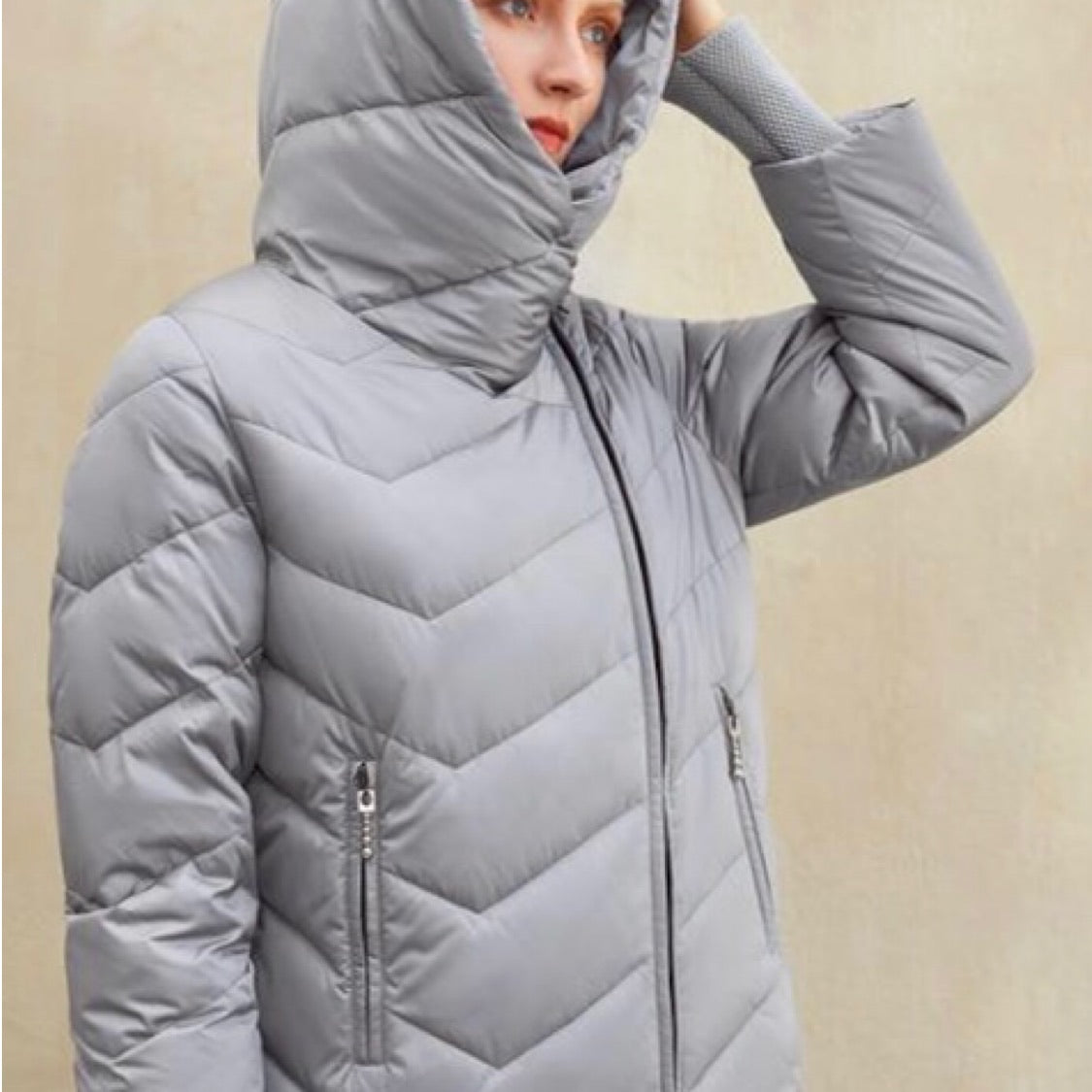 Puffer Hooded Parka - Cila Clothing