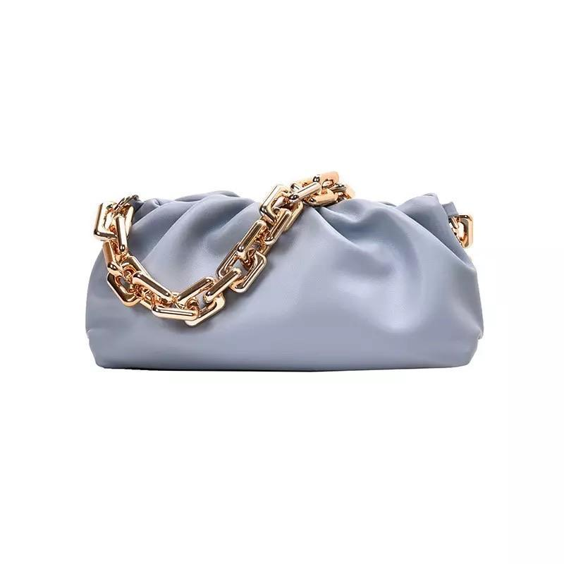 Sweet Gal - Blue Chain Pouch Bag - Cila Clothing