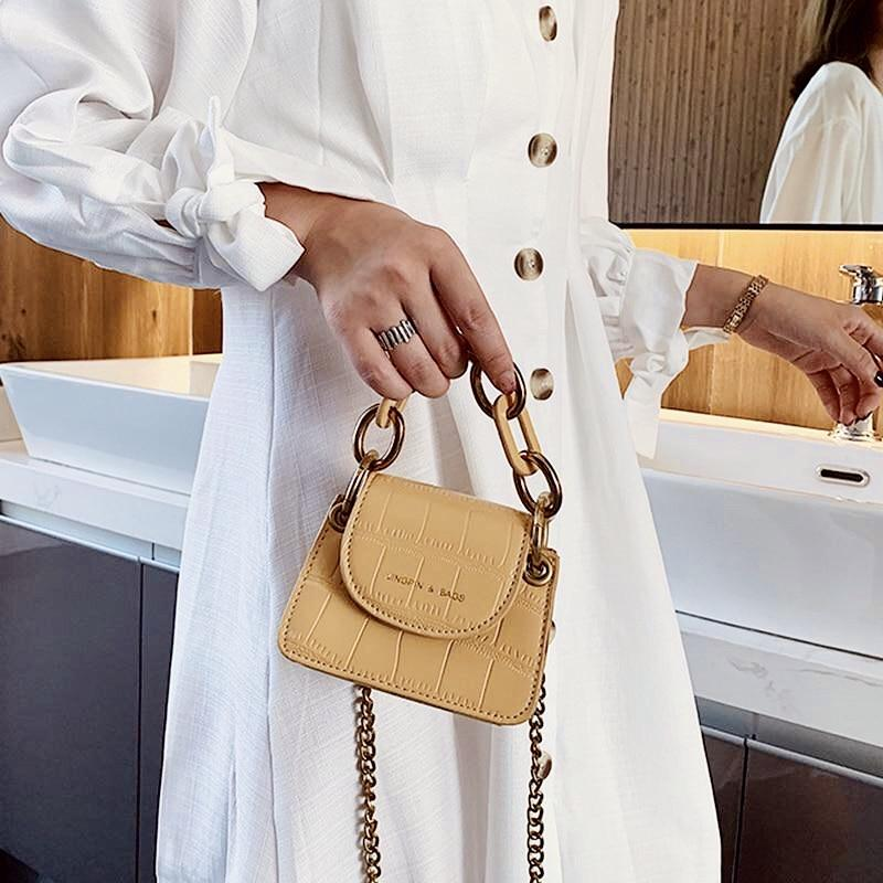 Sweet Gal - Chain Mini Crossbody - Cila Clothing