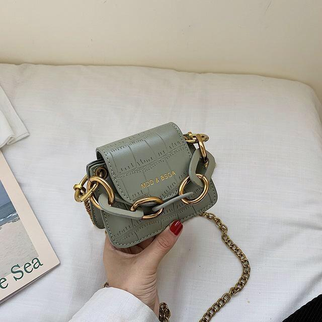 Sweet Gal - Chunky Chain Mini Bag - Oh, Sassy!
