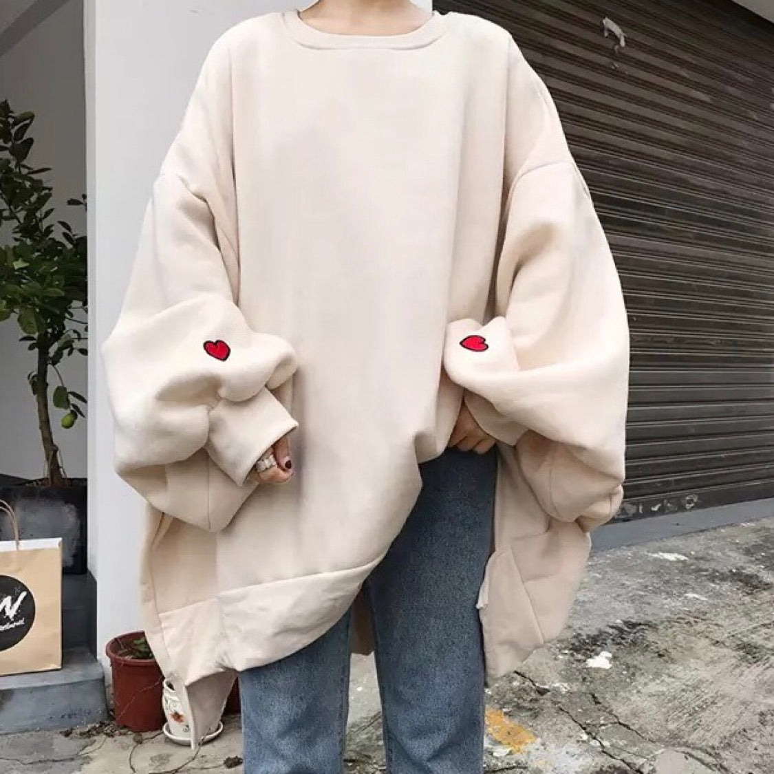 Oversize Sweatshirt - Cila Clothing