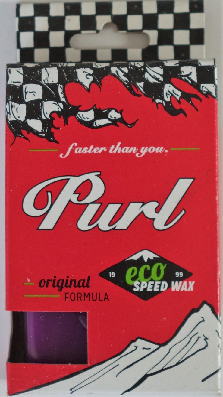 Purl faster than you Eco Speed Wax