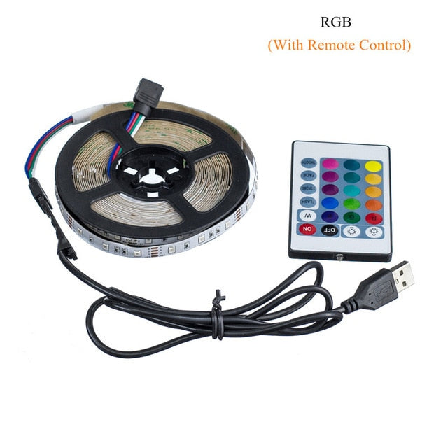 Luces LED (colores RGB - 1m/2m/3m/4m/5m)