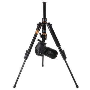 Professional portable magnesium-aluminum alloy tripod monopod and ball head
