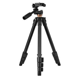 Camera tripod portable travel four-leg foldable stand