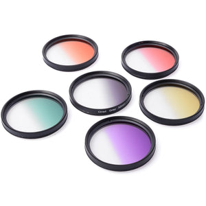 Square filter kit and 6PCS premium color filter