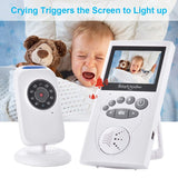 LCD wireless baby monitor
