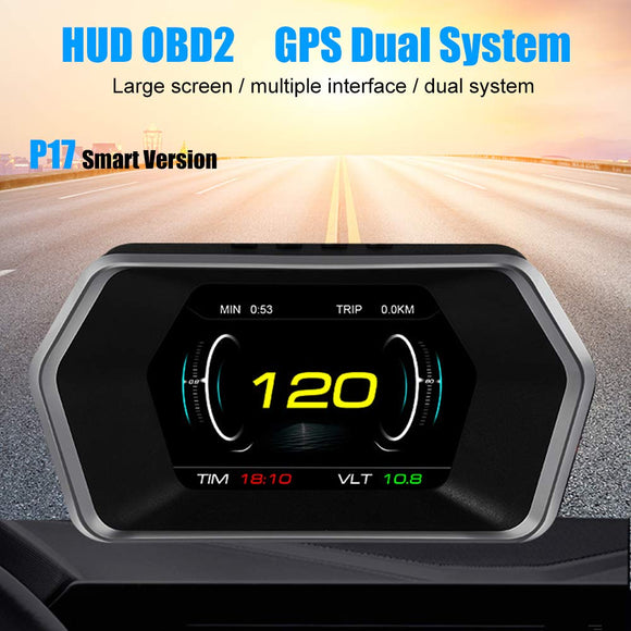 HUD overspeed voltage RPM alarm car head-up display