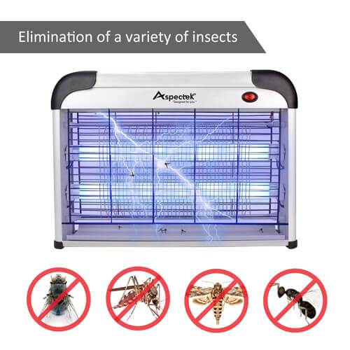 ASPECTEK upgraded version of 20W electronic pest control device