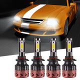 LED Headlight Kit Super Bright High Low Beam Light Bulb