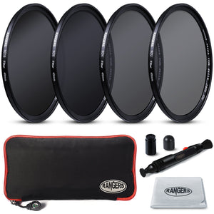 Rangers ND2 4 8 16 Filter and 3 Piece Filter Kit