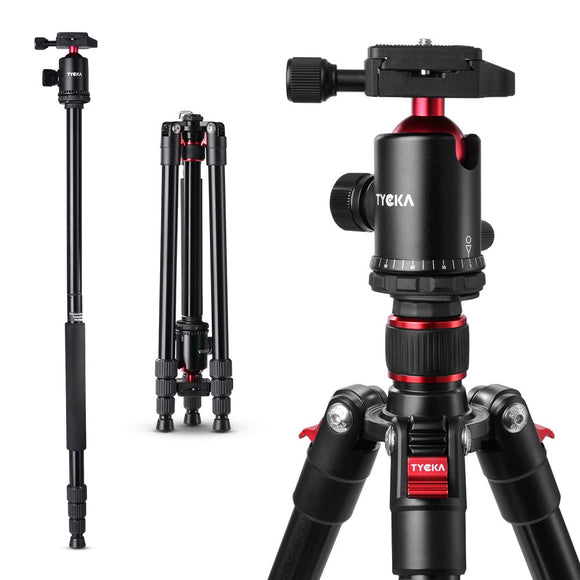 Camera tripod, heavy-duty 360 panoramic ball head (diameter 36mm)